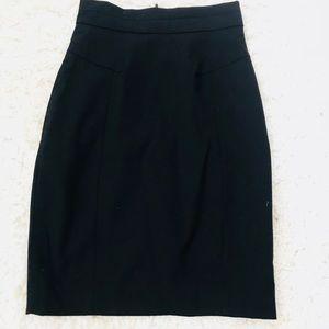 H&M black work skirt size 2!